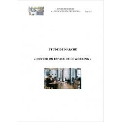Etude de marché sue les espaces de coworking en France