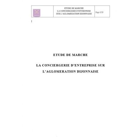 Pack business plan et Etude de marché conciergerie entreprise (pdf)