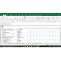 Business plan Food Truck (Excel)
