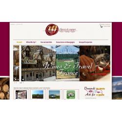 Site internet Wine me up