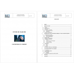 Etude de marché courtier en crédit immobilier (pdf)